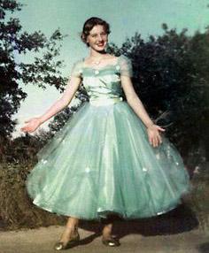 Maturantska obleka leta 1950