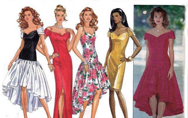 Maturantske obleke leta 1990