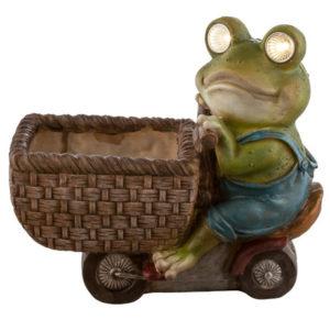 Solarna svetilka - žaba