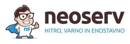 Registracija domen NEOSERV.si