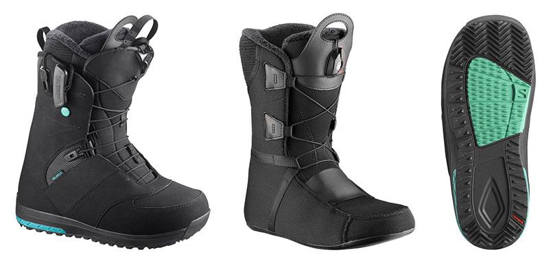 Ženski snowboard čevlji Salomon Ivy