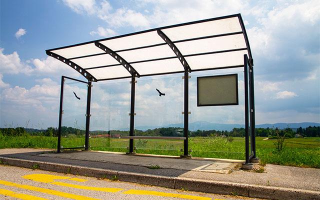 Avtobusna nadstrešnica ANI
